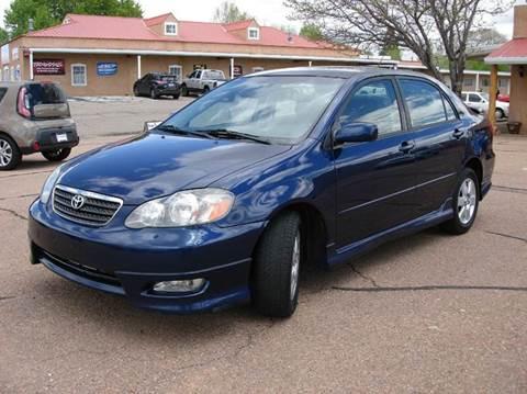 2006 Toyota Corolla for sale at Santa Fe Auto Showcase in Santa Fe NM