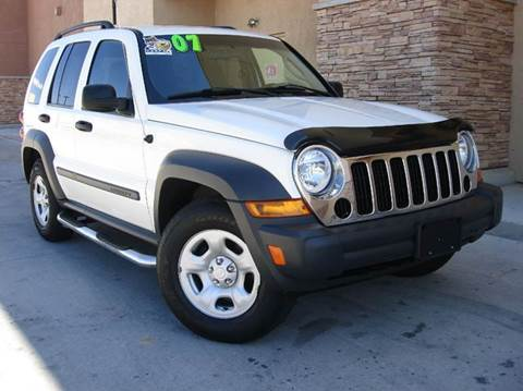 2007 Jeep Liberty for sale at Santa Fe Auto Showcase in Santa Fe NM