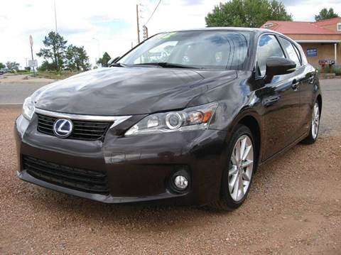 2012 Lexus CT 200h for sale at Santa Fe Auto Showcase in Santa Fe NM