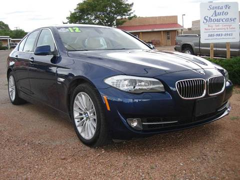 2012 BMW 5 Series for sale at Santa Fe Auto Showcase in Santa Fe NM