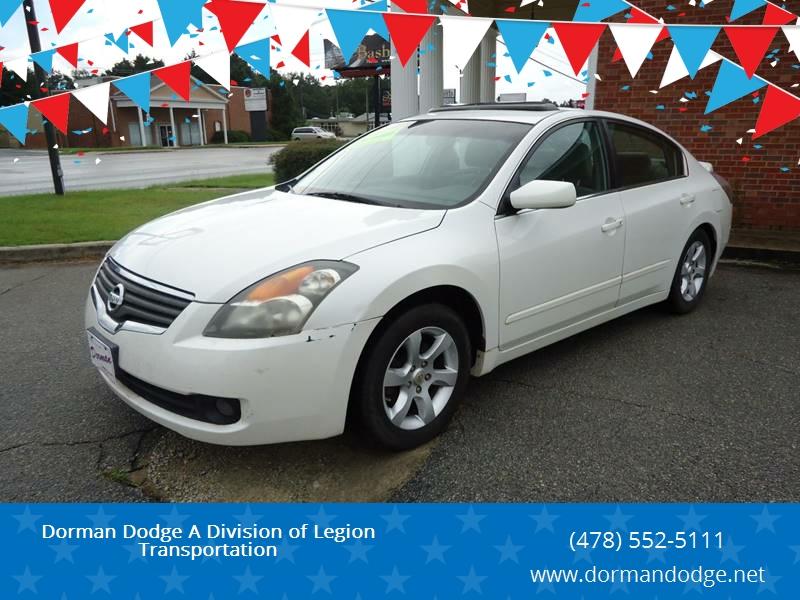 2007 Nissan Altima For Sale At Dorman Dodge A Division Of Legion  Transportation In Sandersville GA
