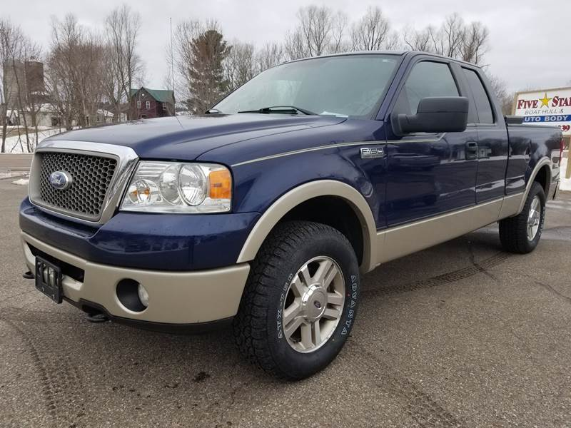 2007 Ford F150 Tire Size Chart