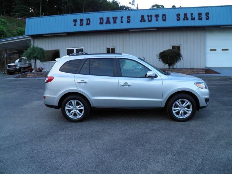 2011 Hyundai Santa Fe For Sale At Ted Davis Auto Sales In Riverton WV