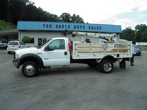2006 Ford F-550 Super Duty for sale in Riverton, WV