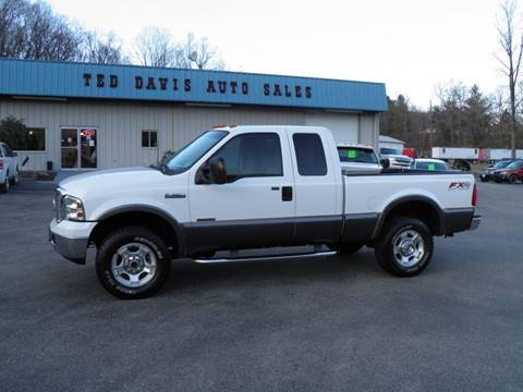 2007 Ford F-350 Super Duty for sale at Ted Davis Auto Sales in Riverton WV