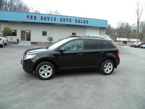 2013 Ford Edge SE for sale at Ted Davis Auto Sales in Riverton WV