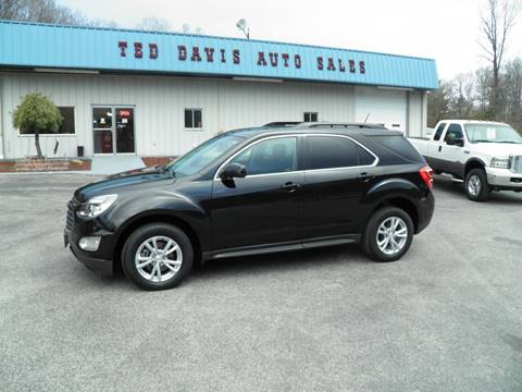 2016 Chevrolet Equinox LT for sale at Ted Davis Auto Sales in Riverton WV