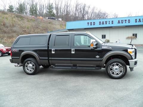 2016 Ford F-250 Super Duty King Ranch for sale at Ted Davis Auto Sales in Riverton WV