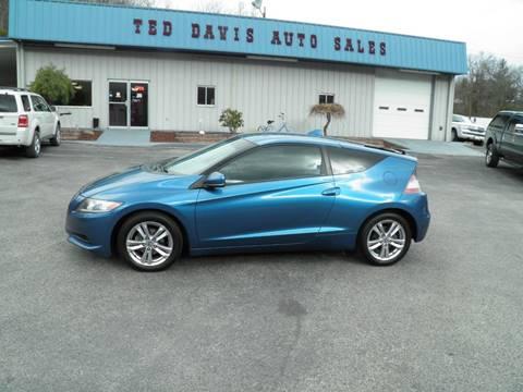 2011 Honda CR-Z for sale at Ted Davis Auto Sales in Riverton WV