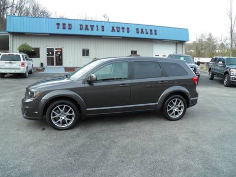 2017 Dodge Journey for sale at Ted Davis Auto Sales in Riverton WV