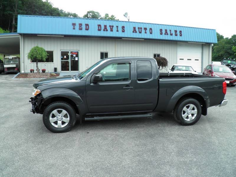 2010 Nissan Frontier for sale at Ted Davis Auto Sales in Riverton WV