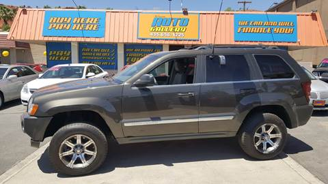 2006 Jeep Grand Cherokee for sale at ST GEORGE AUTO GALLERY in St George UT