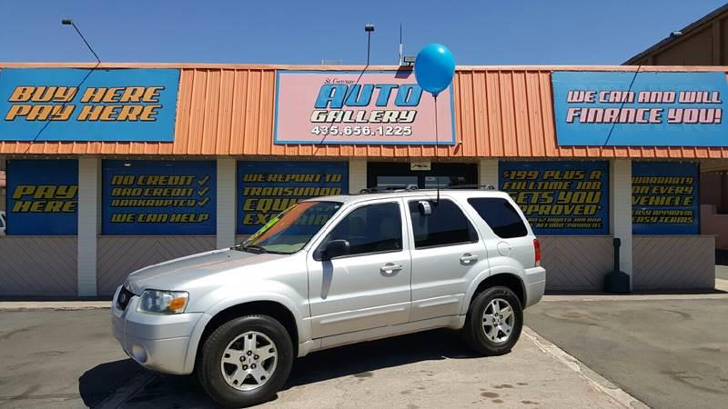 2005 Ford Escape for sale at ST GEORGE AUTO GALLERY in St George UT