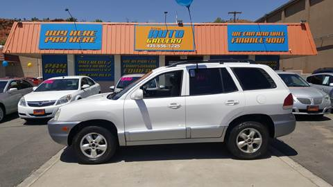 2005 Hyundai Santa Fe for sale at ST GEORGE AUTO GALLERY in St George UT