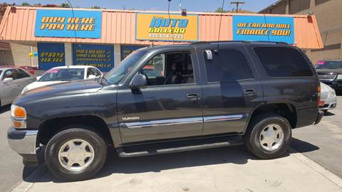 2005 GMC Yukon for sale at ST GEORGE AUTO GALLERY in St George UT
