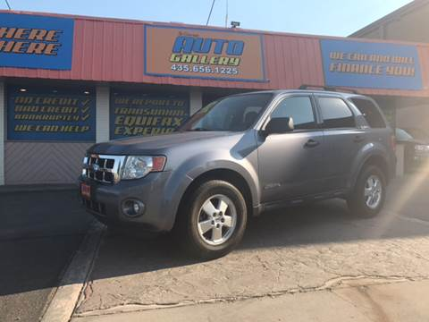 2008 Ford Escape for sale at ST GEORGE AUTO GALLERY in St George UT