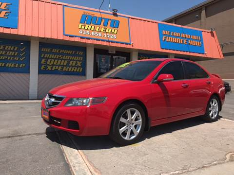2005 Acura TSX for sale at ST GEORGE AUTO GALLERY in St George UT