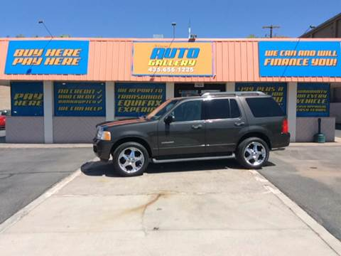 2005 Ford Explorer for sale at ST GEORGE AUTO GALLERY in St George UT
