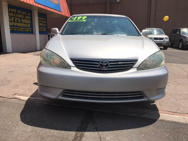 2005 Toyota Camry for sale at ST GEORGE AUTO GALLERY in St George UT