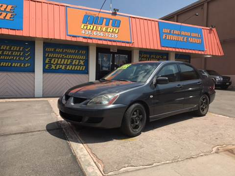 2004 Mitsubishi Lancer for sale at ST GEORGE AUTO GALLERY in St George UT