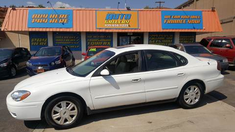 2007 Ford Taurus for sale at ST GEORGE AUTO GALLERY in St George UT