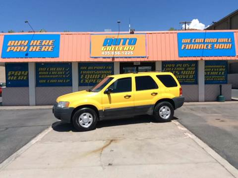 2001 Ford Escape for sale at ST GEORGE AUTO GALLERY in St George UT