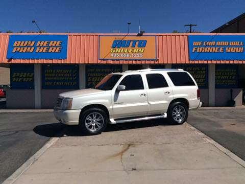 2004 Cadillac Escalade for sale at ST GEORGE AUTO GALLERY in St George UT
