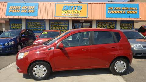 2011 Chevrolet Aveo for sale at ST GEORGE AUTO GALLERY in St George UT