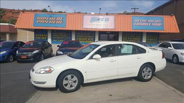 2008 Chevrolet Impala for sale at ST GEORGE AUTO GALLERY in St George UT