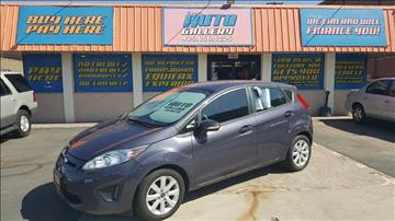 2013 Ford Fiesta for sale at ST GEORGE AUTO GALLERY in St George UT