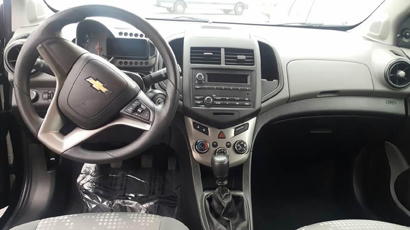 2013 Chevrolet Sonic LS Manual 4dr Hatchback - St George UT