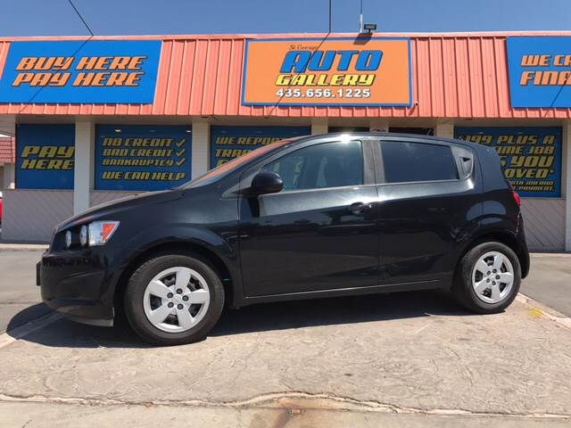 2013 Chevrolet Sonic for sale at ST GEORGE AUTO GALLERY in St George UT
