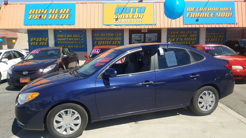 2010 Hyundai Elantra for sale at ST GEORGE AUTO GALLERY in St George UT