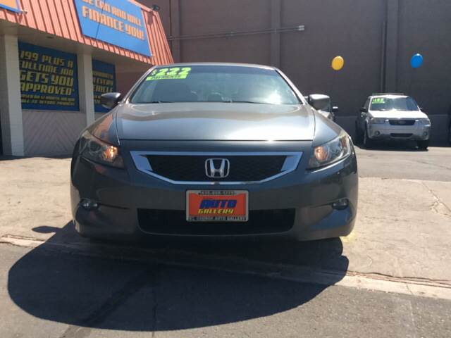 2009 Honda Accord for sale at ST GEORGE AUTO GALLERY in St George UT