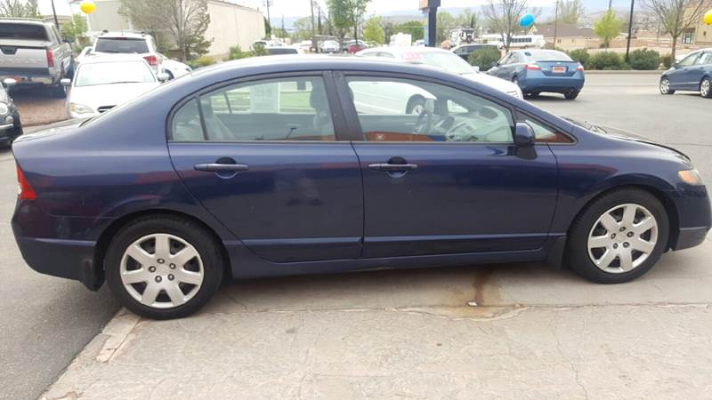 2008 Honda Civic LX 4dr Sedan 5A - St George UT
