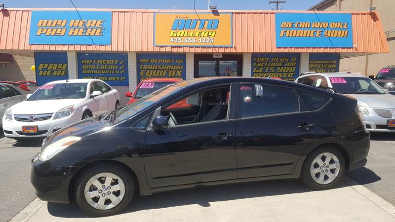 2005 Toyota Prius for sale at ST GEORGE AUTO GALLERY in St George UT