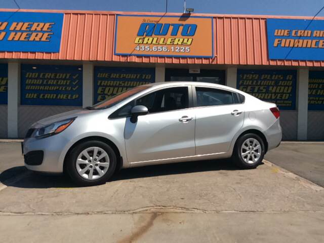 2013 Kia Rio for sale at ST GEORGE AUTO GALLERY in St George UT