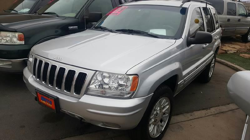 2002 Jeep Grand Cherokee Limited 4WD 4dr SUV - St George UT