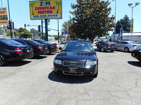 2004 Audi A4 for sale in Hayward, CA