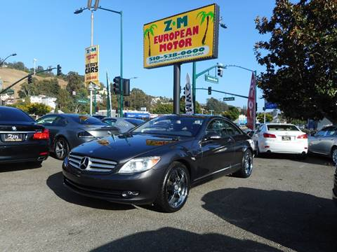 2007 Mercedes-Benz CL-Class for sale in Hayward, CA