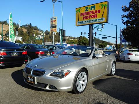 2007 BMW 6 Series for sale in Hayward, CA