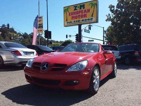 2007 Mercedes-Benz SLK for sale in Hayward, CA