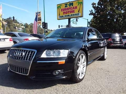2007 Audi S8 for sale in Hayward, CA