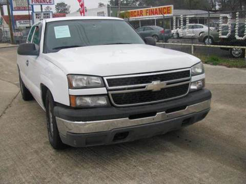 2005 Chevrolet Silverado 1500 for sale at MOTOR CAR FINANCE in Houston TX