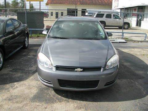 2007 Chevrolet Impala for sale at MOTOR CAR FINANCE in Houston TX