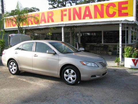 2007 Toyota Camry for sale at MOTOR CAR FINANCE in Houston TX