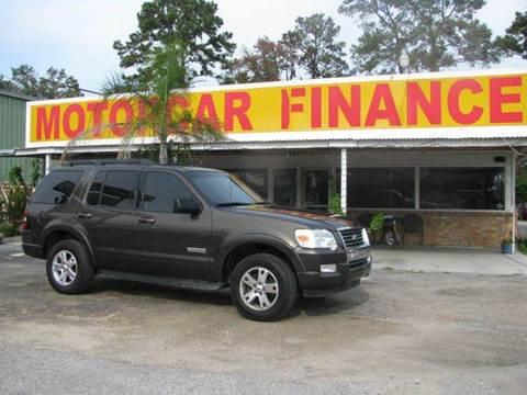 2008 Ford Explorer & MOTOR CAR FINANCE - Houston TX markmcfarlin.com
