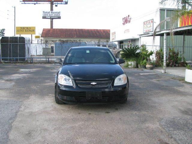 2007 Chevrolet Cobalt for sale at MOTOR CAR FINANCE in Houston TX