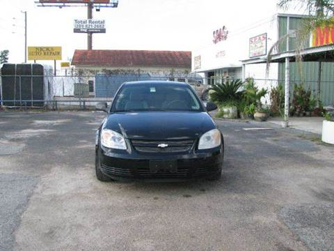 2007 Chevrolet Cobalt for sale at MOTOR CAR FINANCE in Houston TX