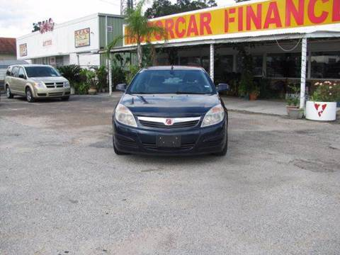 2008 Saturn Aura for sale at MOTOR CAR FINANCE in Houston TX